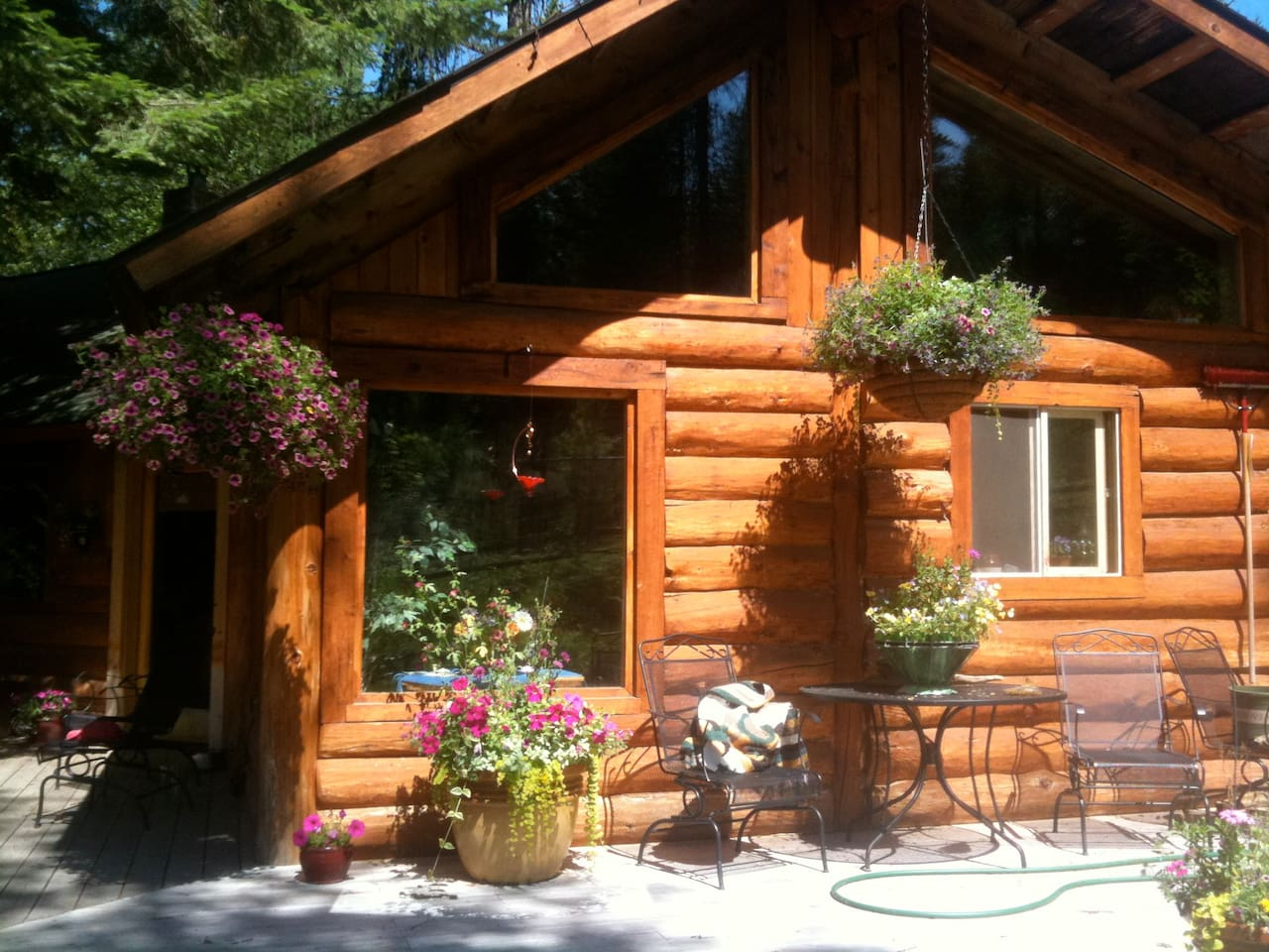 big boulder cabin cabins for rent in sandpoint idaho united states