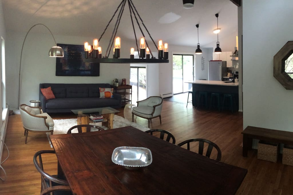 Great Room - Dining Area / Sitting Area / Kitchen