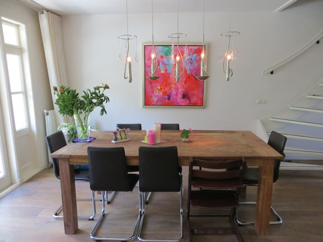Beautiful family appartement near Vondelpark - Amsterdã - Apartamento