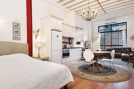 Loft style apartment in CBD