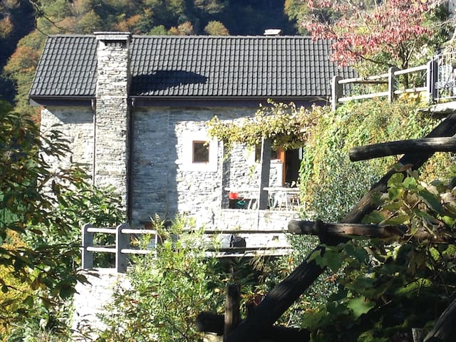 Grosszügiges, modernes Rustico - Tessin - Haus