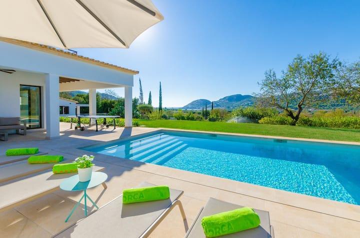 CAN PARRA - Villa with sea views in PUERTO DE ANDRATX. Free WiFi