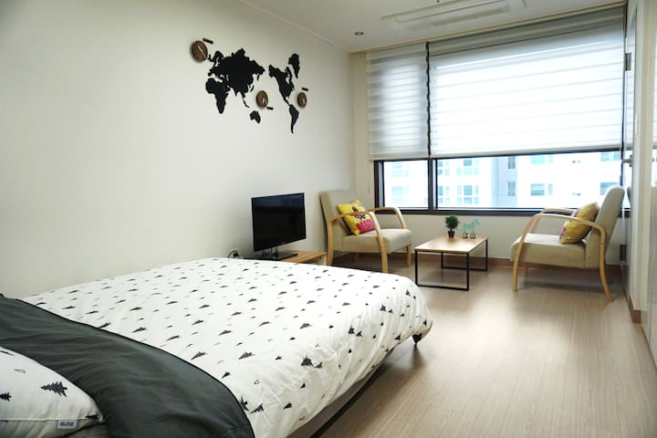 Brand-new Studio near Busan Station