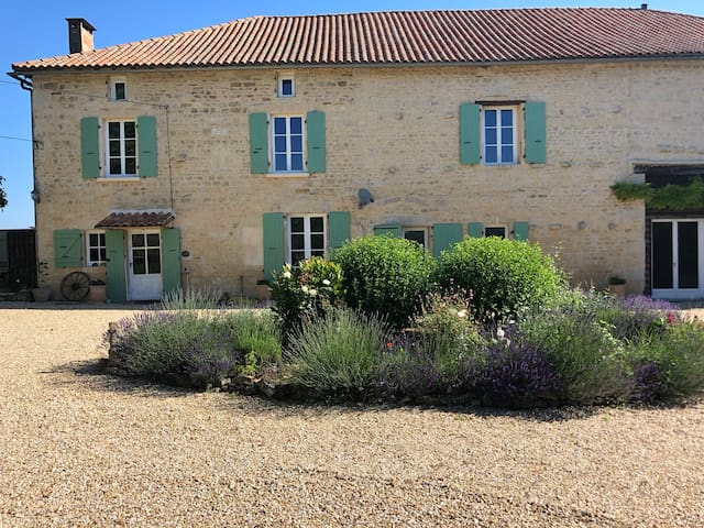 Charming French Farmhouse at Sauzé-Vaussais