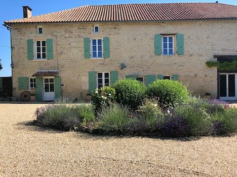 Charming French Farmhouse at Sauzé-Vaussais