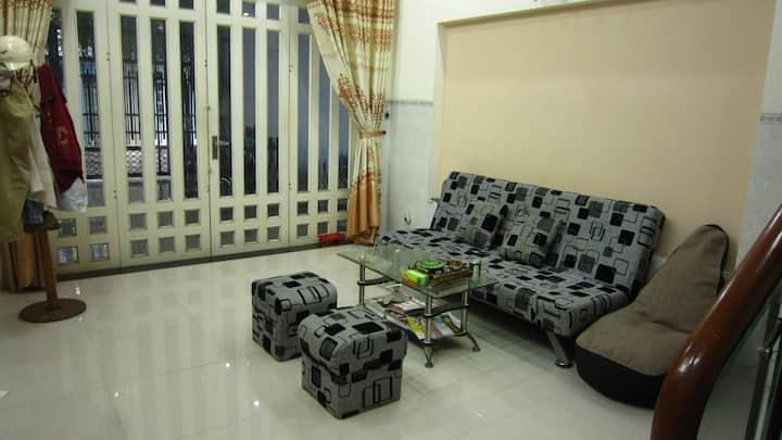 Master balcony room near Quang Trung Software City