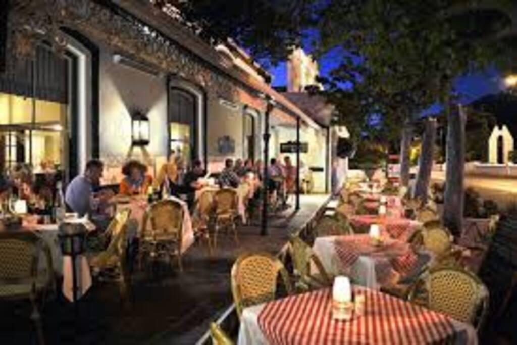 World class restaurants