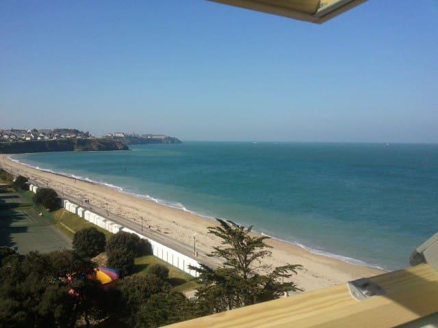 Ermitage,vue imprenable sur mer - Donville-les-Bains - Apartamento