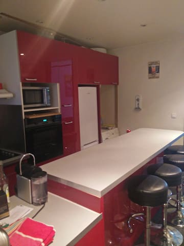 Kitchen (1/3) fully equipped