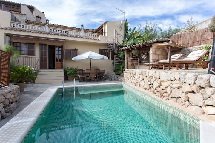 """ Es Raco "" Country House with Swimming Pool - Caimari - Casa"