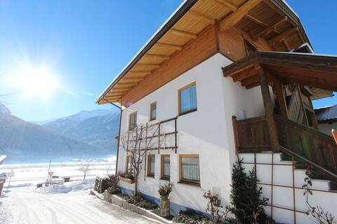 Sunny Apartment in Bramberg am Wildkogel with Mountain View