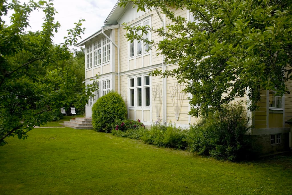 Quite and private location in the middle of Vaxholm
