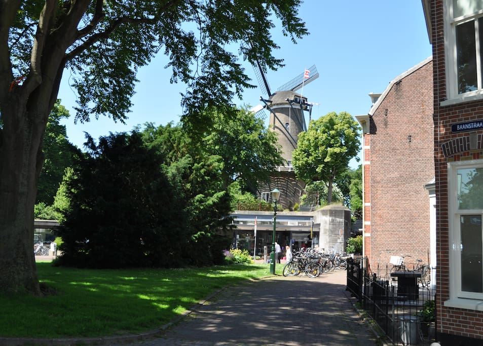 Molen van Piet (Piet's windmil) around the corner