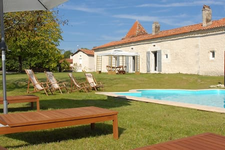 Countryside House with secure Private Pool - Cherval