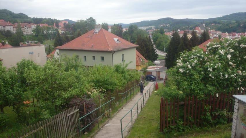 Family vila next to the town centre - Český Krumlov - Casa de campo