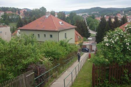 Family vila next to the town centre - Český Krumlov - Villa