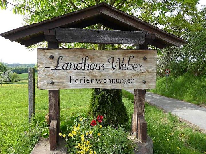 nette Ferienwohnung im Odenwald