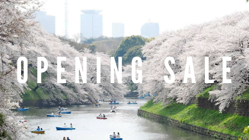 【Opening Sale】8 min walk from Tokyo Sky Tree For 2 - Sumida-ku - Apartament