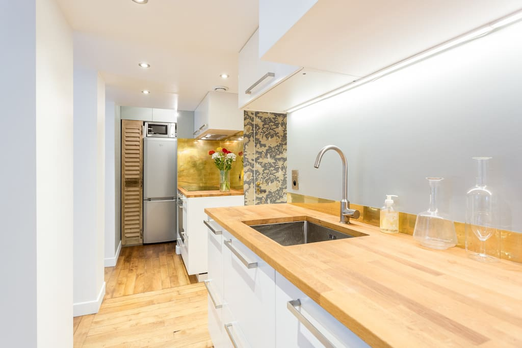 Bel appartement atypique jardin apartments for rent in for Appartement atypique paris