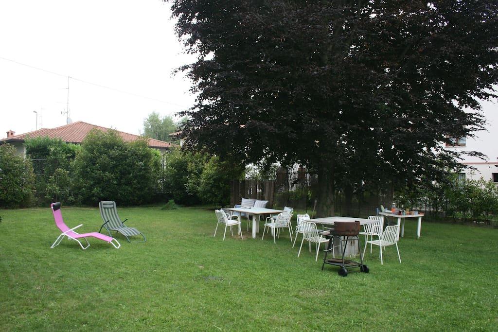 giardino per le colazioni