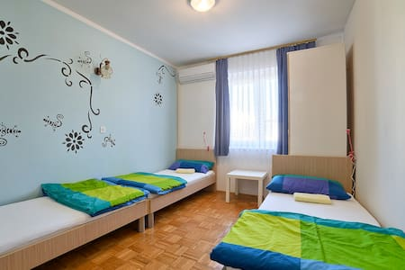 Private 3 bed room in Štinjan - Pula
