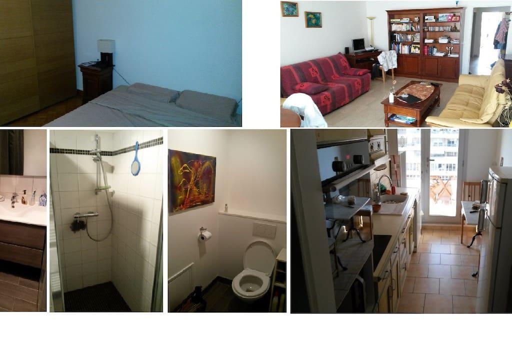 Récemment rénové. Un appartement très fonctionnel.