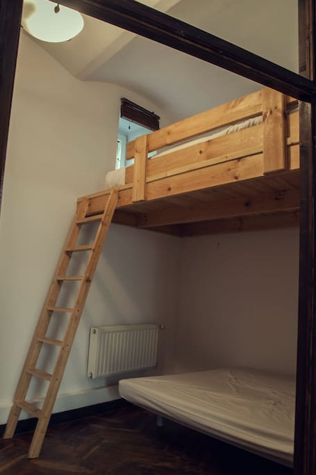 Bunk bed in the second bedroom