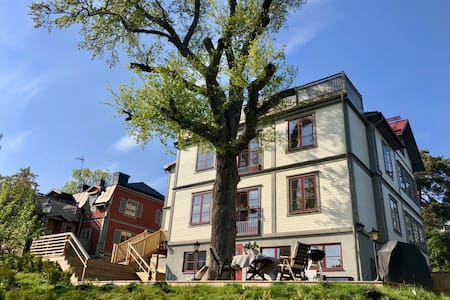 Beautilful and bright apartment in lovely Vaxholm