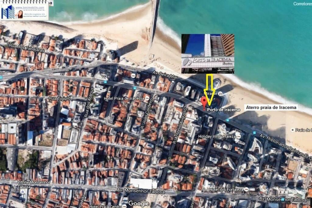 Popular location, close to other hotel chains and amenities - Area popular, próximo a outros hotéis e lojas