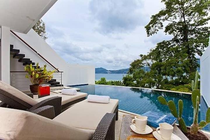 Atika Villa 6 oceanfront pool villa