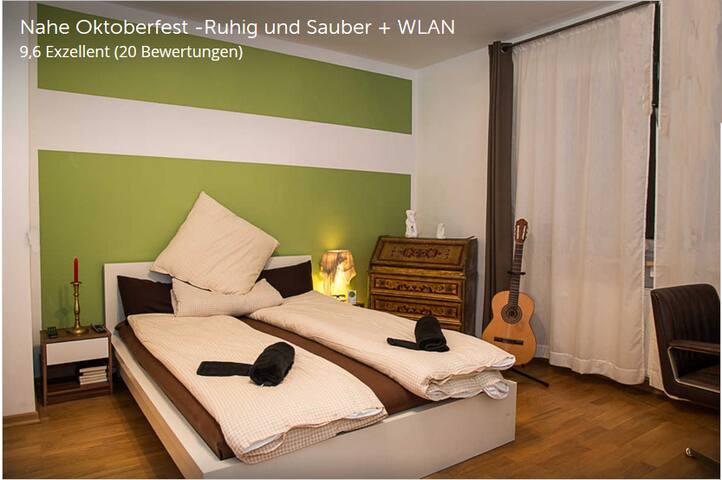 Room near OCTOBERFEST, free WLAN, free Parking