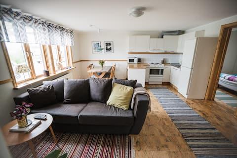 Lägenhet med fantastisk fjällutsikt