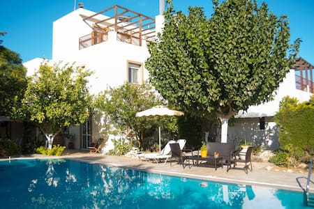 Jiannis Villa With Pool - Vrisia