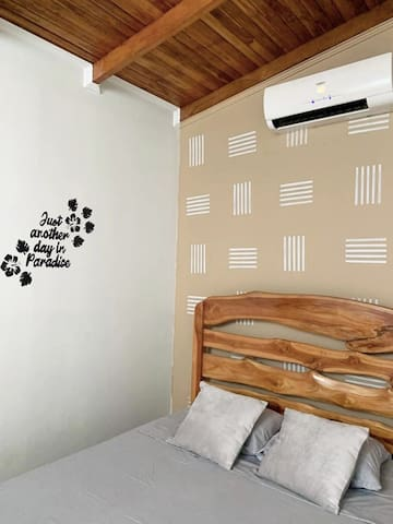 Private Room #6 with private Bath , AC and double bed