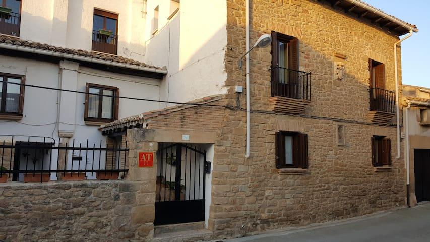CASA JANICES, casa de piedra acogedora.