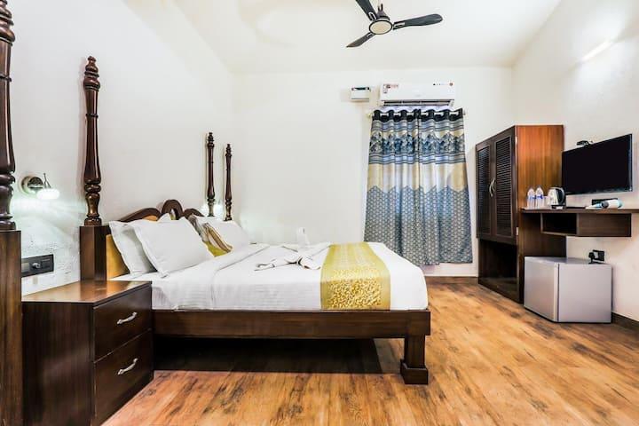 DELUXE ROOMS near baga beach