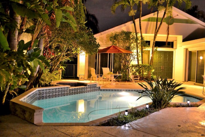 2 Bedroom Private Pool House - Pembroke Pines - Dom
