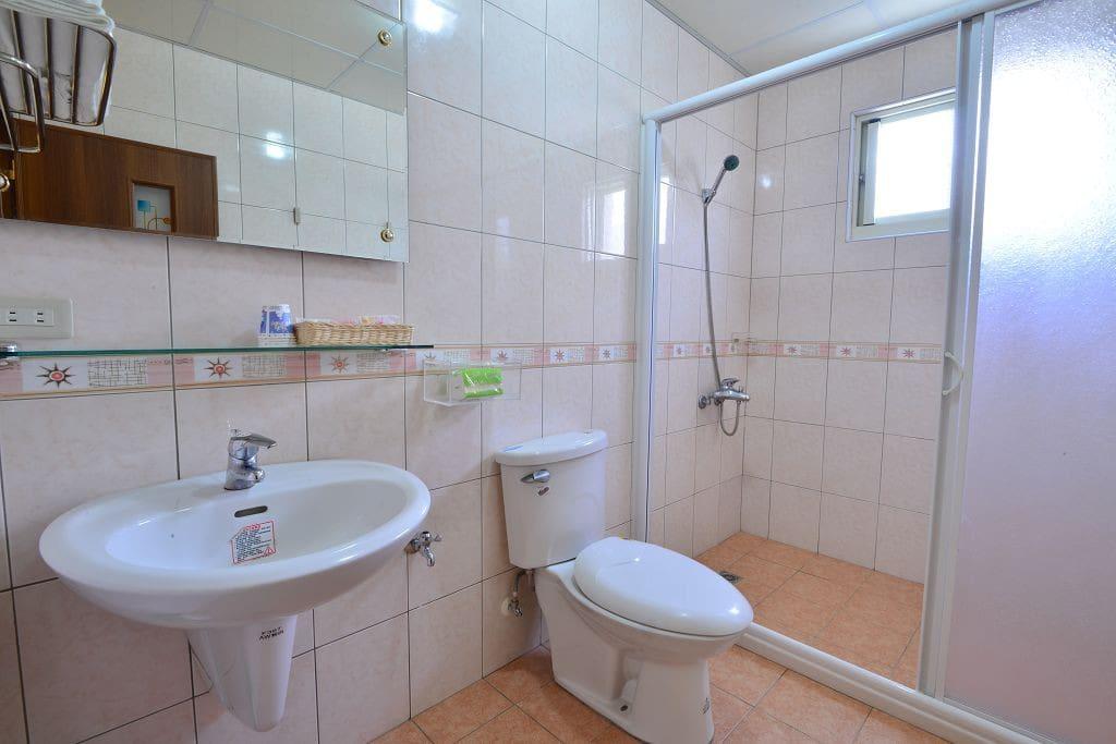 202房型 海洋風情 衛浴設備 乾濕分離