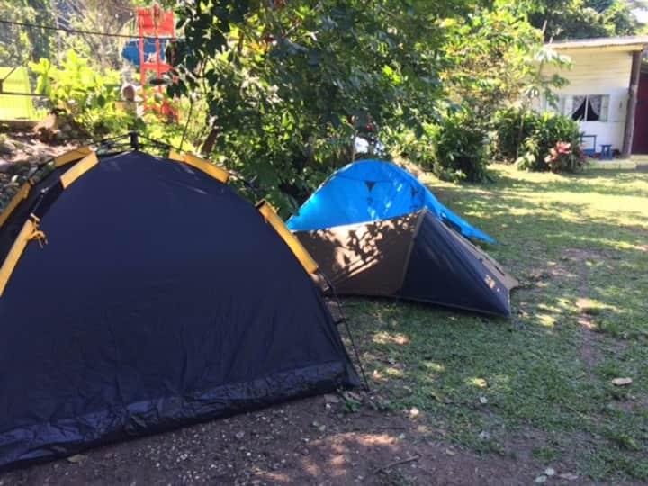 Camping Site#3 @ River Paradise Jamaica