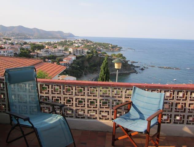Appartement deux pièces avec terrasses et panorama - Llançà - Wohnung