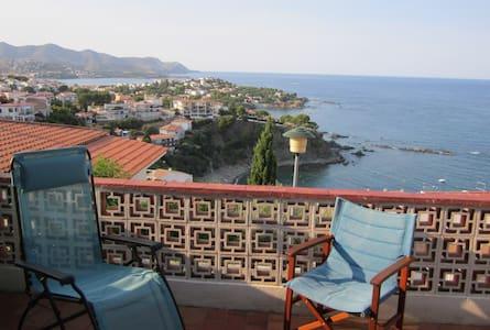 Appartement deux pièces avec terrasses et panorama - Llançà - 公寓