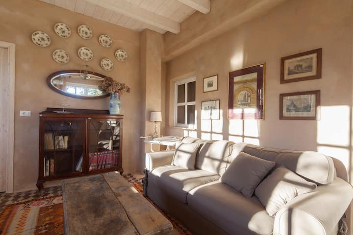 Farmhouse Cinque Terre. Double room in Straw House