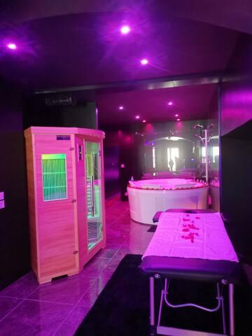 tarif exceptionnel romantique sauna et jacuzzi