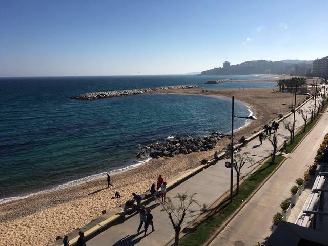 Primera línea Sant Antoni Calonge. Vistas mar - Sant Antoni de Calonge - Appartement