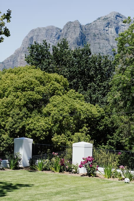 Simonsberg - A Silent Sentinel to the Homestead Garden