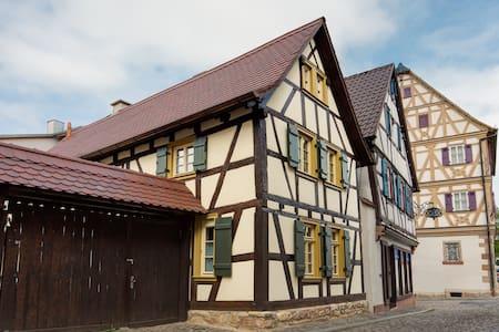 Kleines Fachwerkhaus - Großostheim - Rumah
