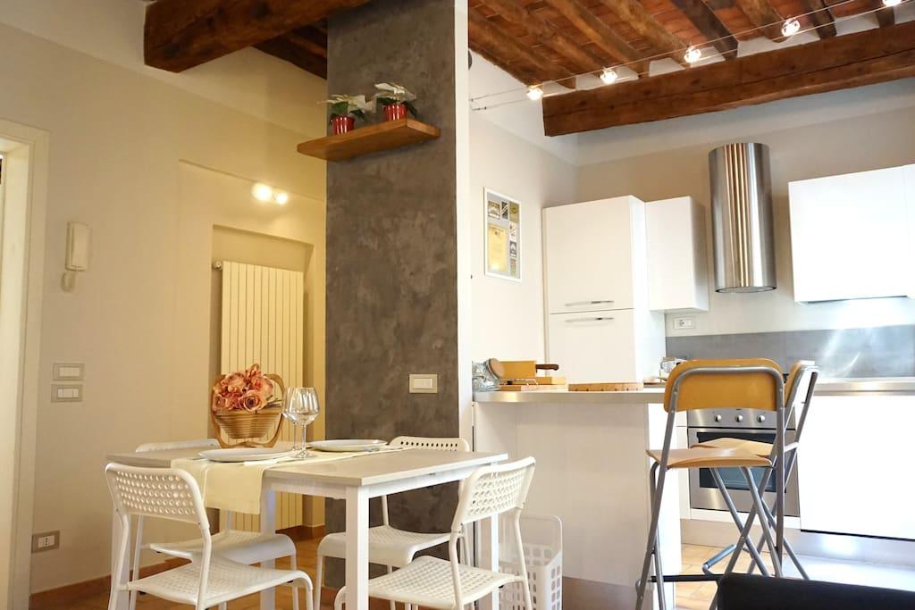 Soggiorno-pranzo/living room- dining