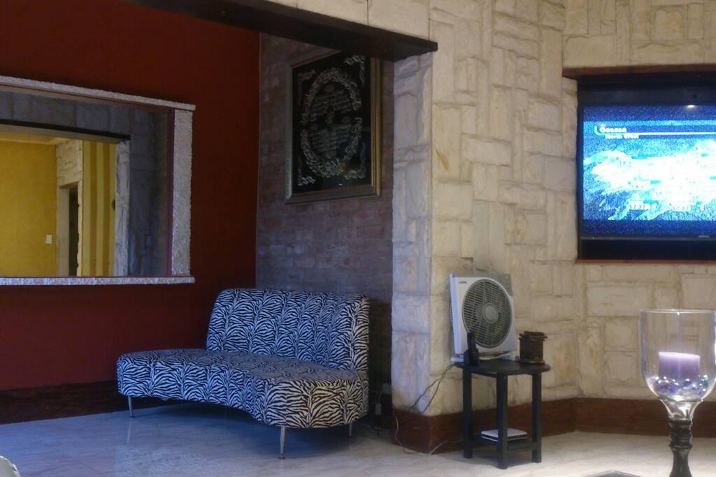 Entrance lobby wall