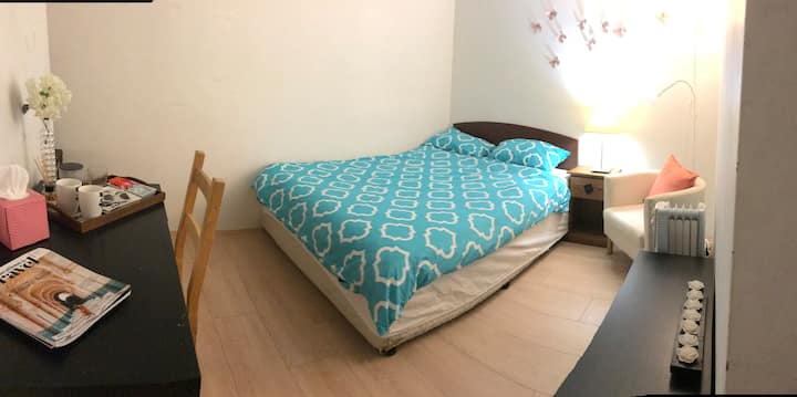 Comfortable room in beautiful flat with facilities
