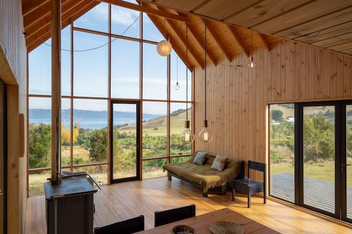 Hermosa Cabaña en Chiloé - Dalcahue - Teguel